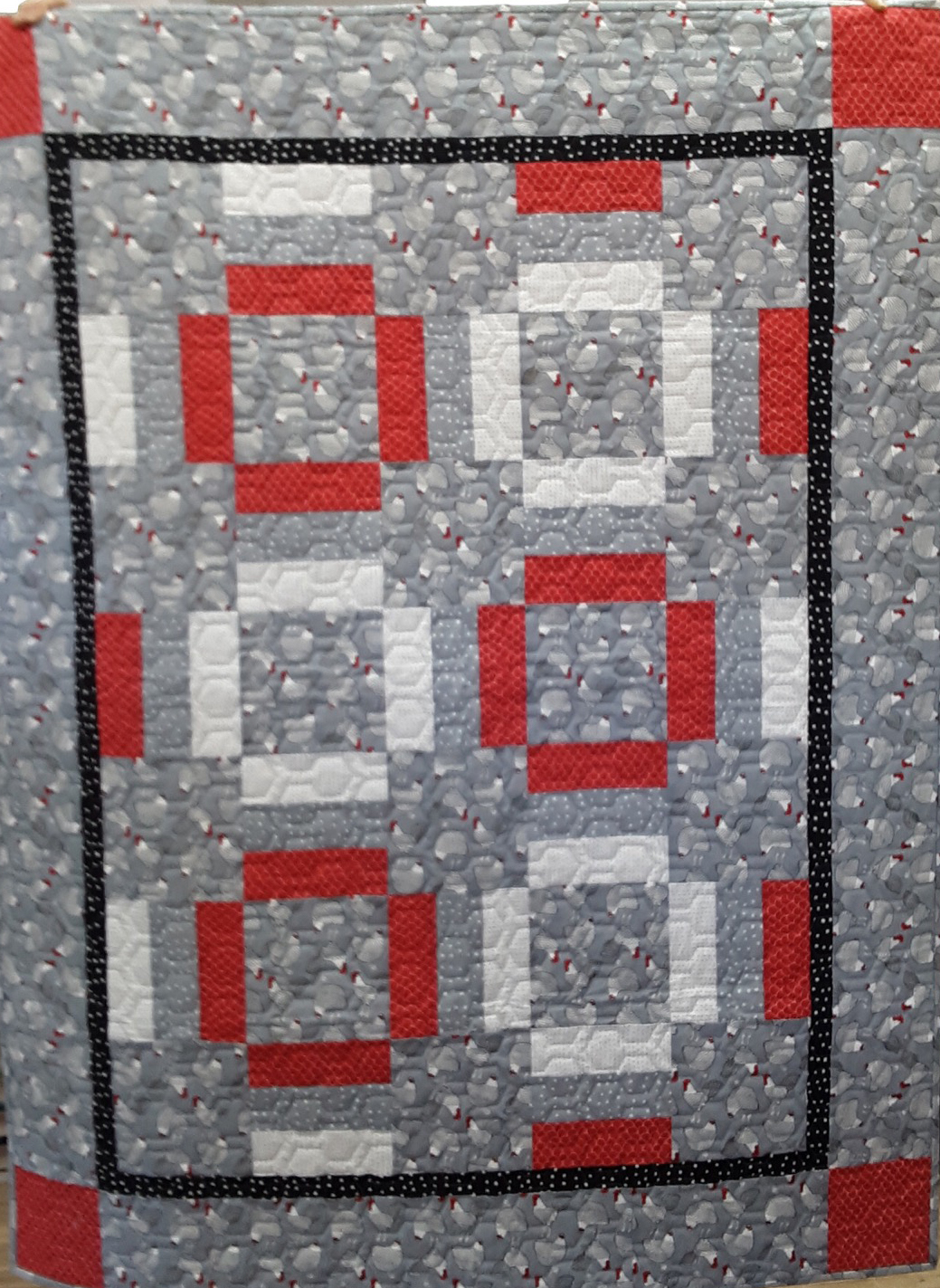 V.201 QUILTING LINES PATTERNS ON CD-ROM QUILT